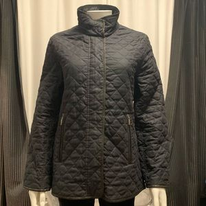 Weatherproof Quilted Full ZIP Lined Jacket Coat